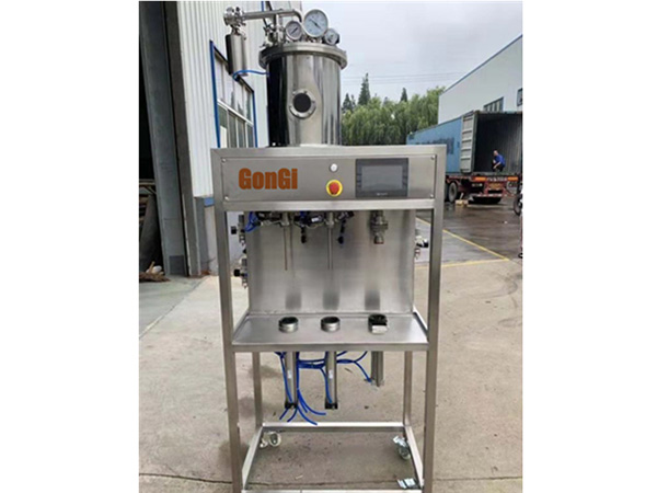 Bottle filler and capper machine 100BPH