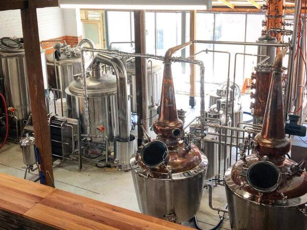 1000L brewery and Distiller in Australia