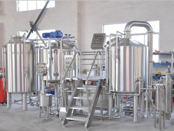 1000L beer brewing equipment for Slovakia client