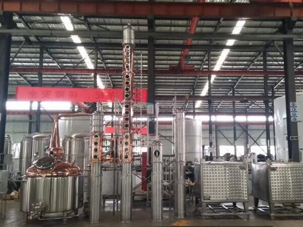 1200L distiller equipment to Ireland (Spirit of whisky, vodka, gin)